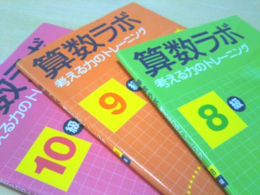 思考系算数教材のオススメ『算数ラボ〜考える力のトレーニング』